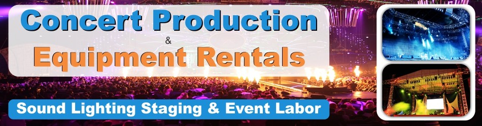 Concert Production Rentals
